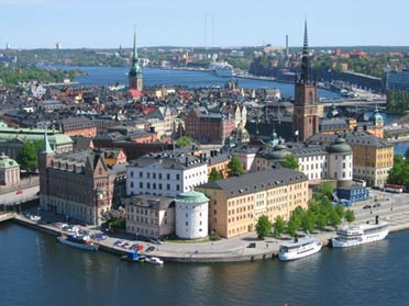 Stockholm. The capital of sweden.